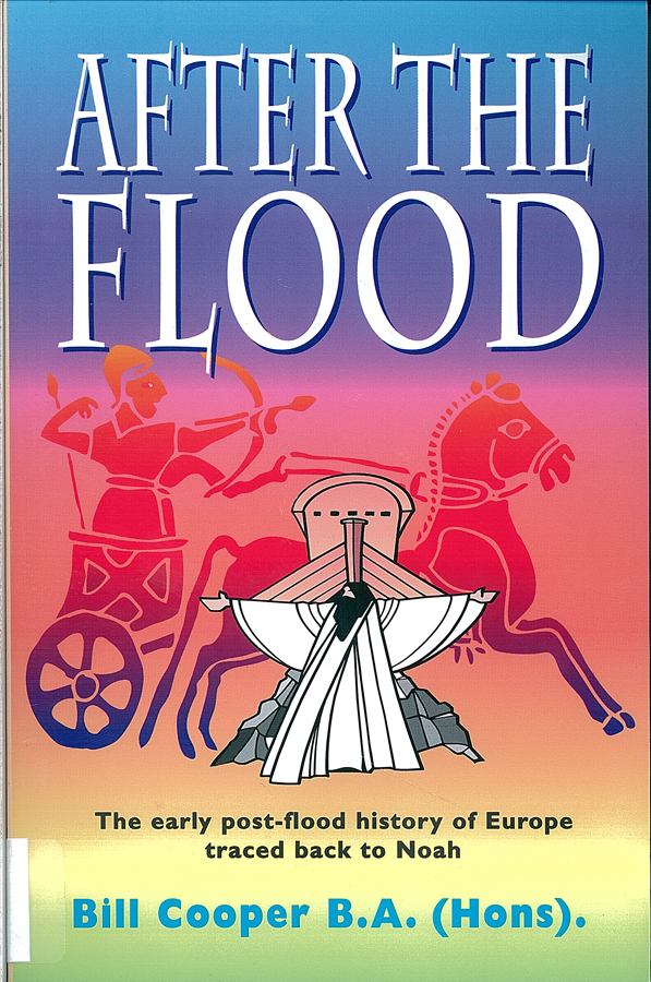 Picture of the front cover of the book entitled After the Flood.