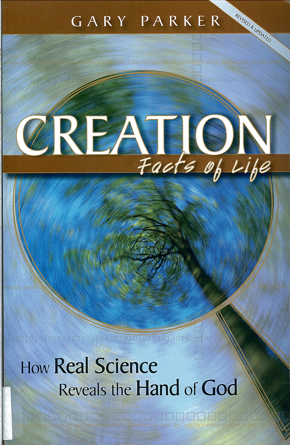 Picture of the front cover of the book entitled Creation Facts of Life.