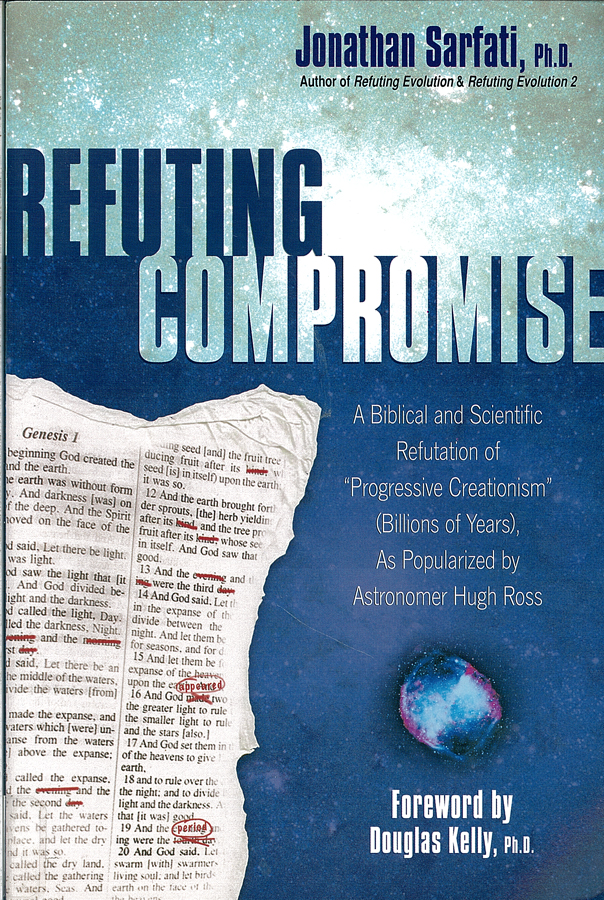 Picture of the front cover of the book entitled Refuting Compromise.