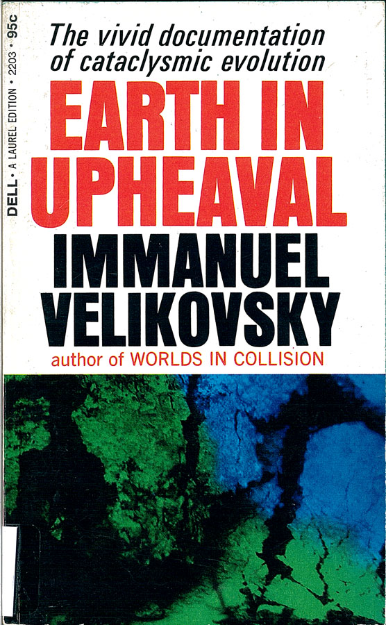 Picture of the front cover of the book entitled Earth In Upheaval.