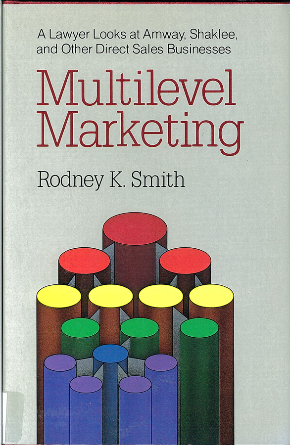 Picture of the front cover of the book entitled Multilevel Marketing.