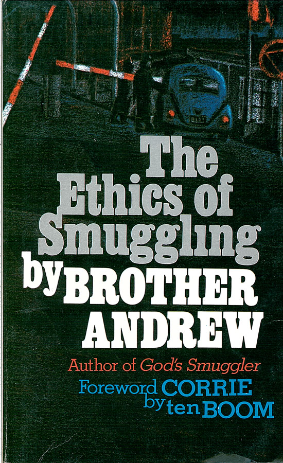 Picture of the front cover of the book entitled The Ethics of Smuggling.