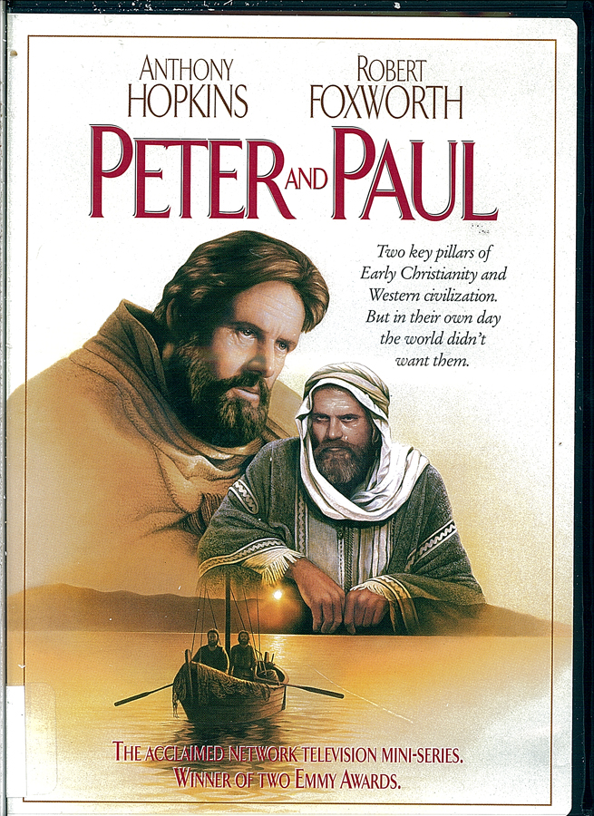 Picture of the front cover of the DVD entitled Peter and Paul.