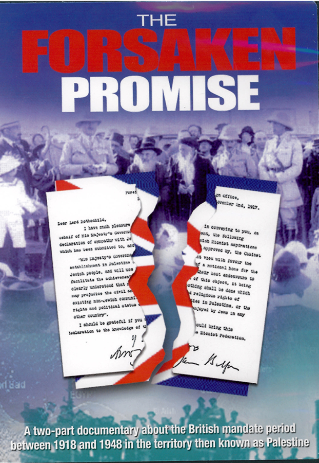 Picture of the front cover of the DVD entitled The Forsaken Promise.