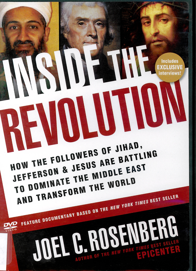 Picture of the front cover of the DVD entitled Inside the Revolution.