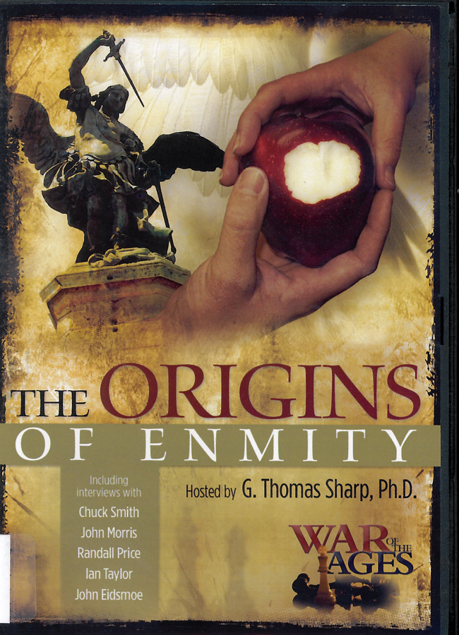 Picture of the front cover of the DVD entitled War of the Ages The Origins of Enmity.