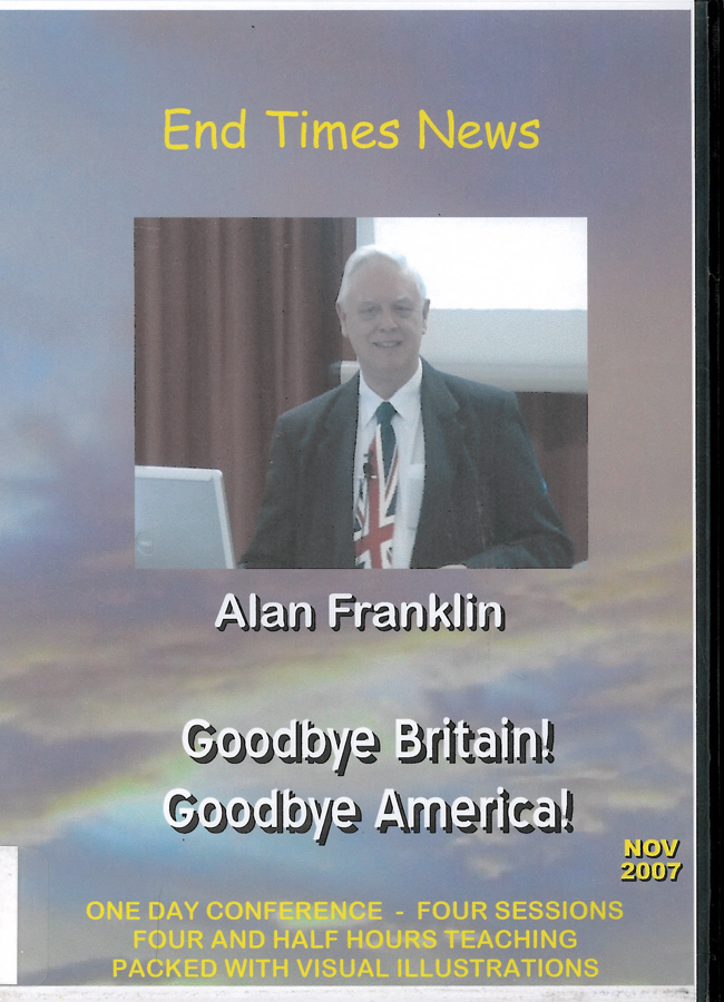 Picture of the front cover of the DVD entitled Goodbye Britain! Goodbye America!.