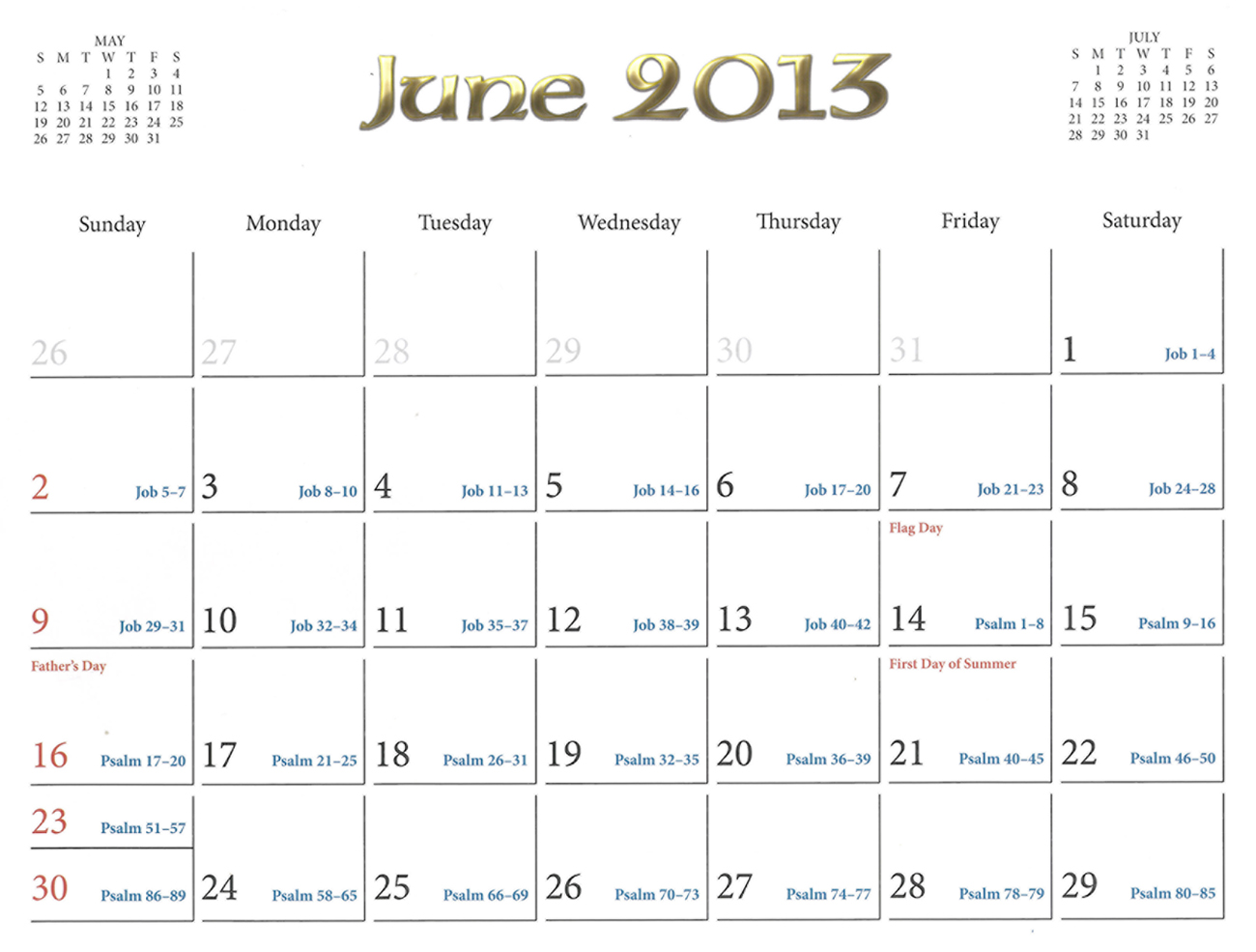 2013 Prophecy Calendar: June - Irrael's Rejection of Jesus Christ as the Messiah