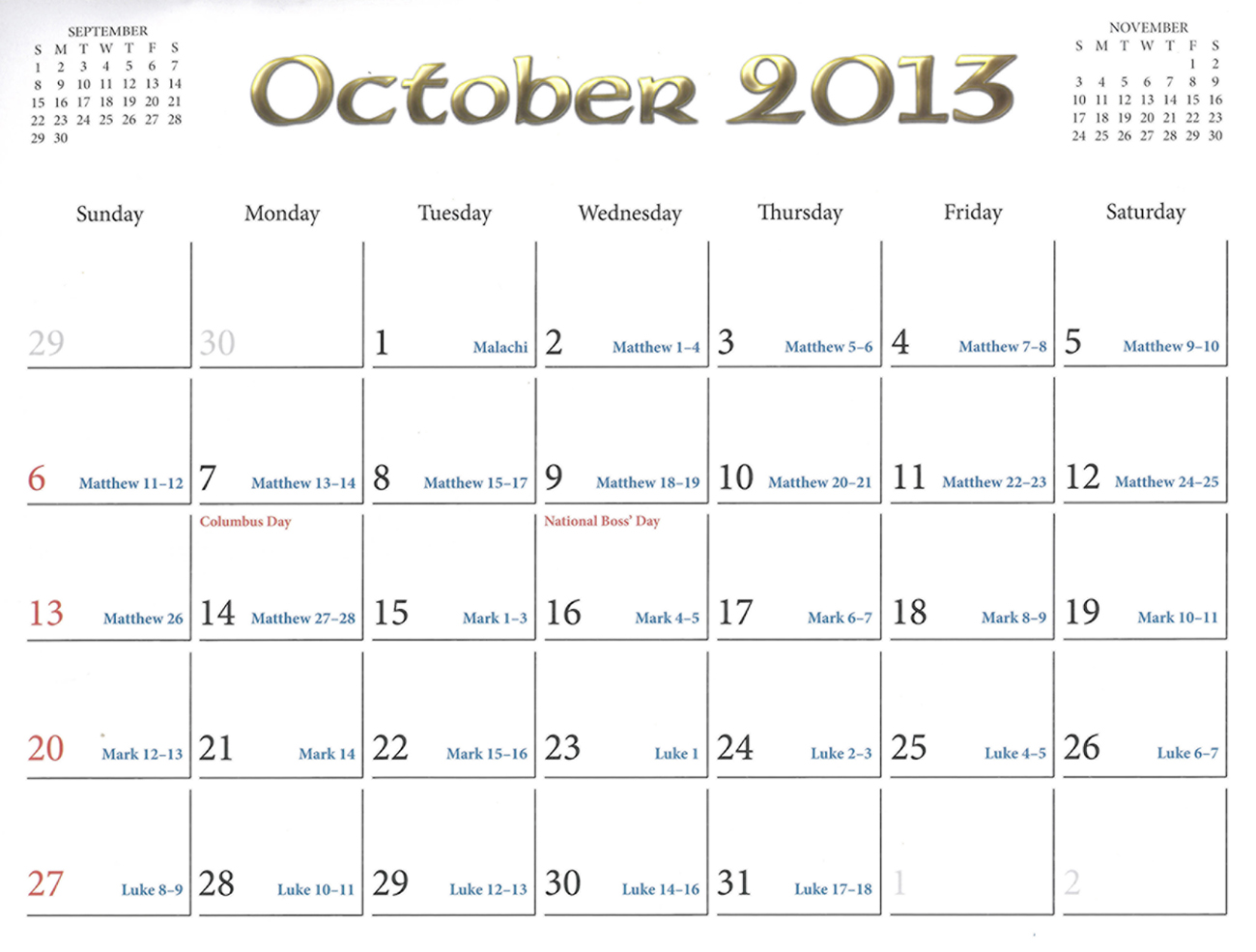 2013 Prophecy Calendar: October - Why Did Jesus Return to Heaven