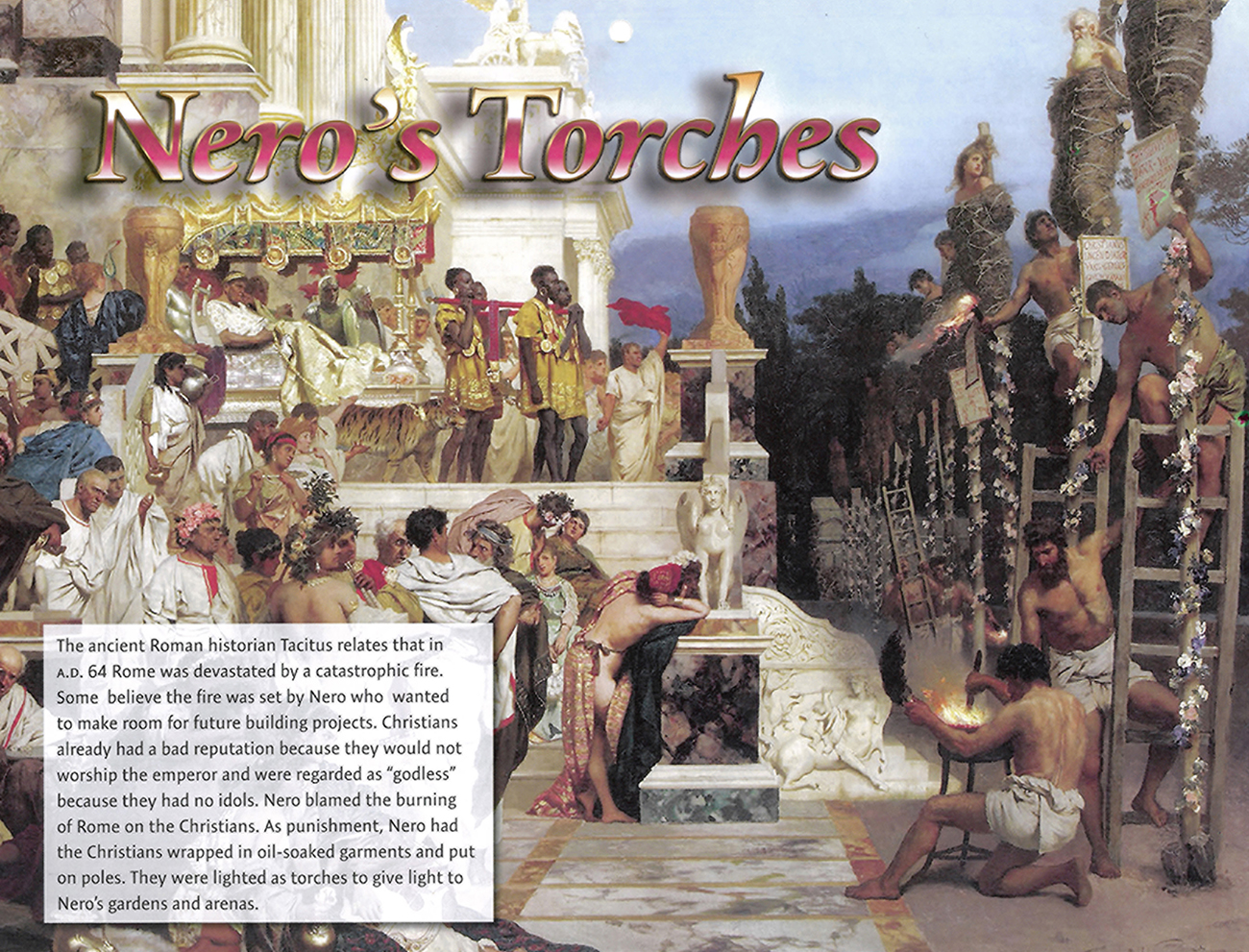 2016 Prophecy Calendar: January - Nero's Torches