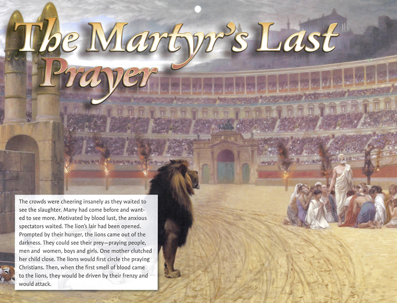 2016 Prophecy Calendar: May - The Martyr's Last Prayer
