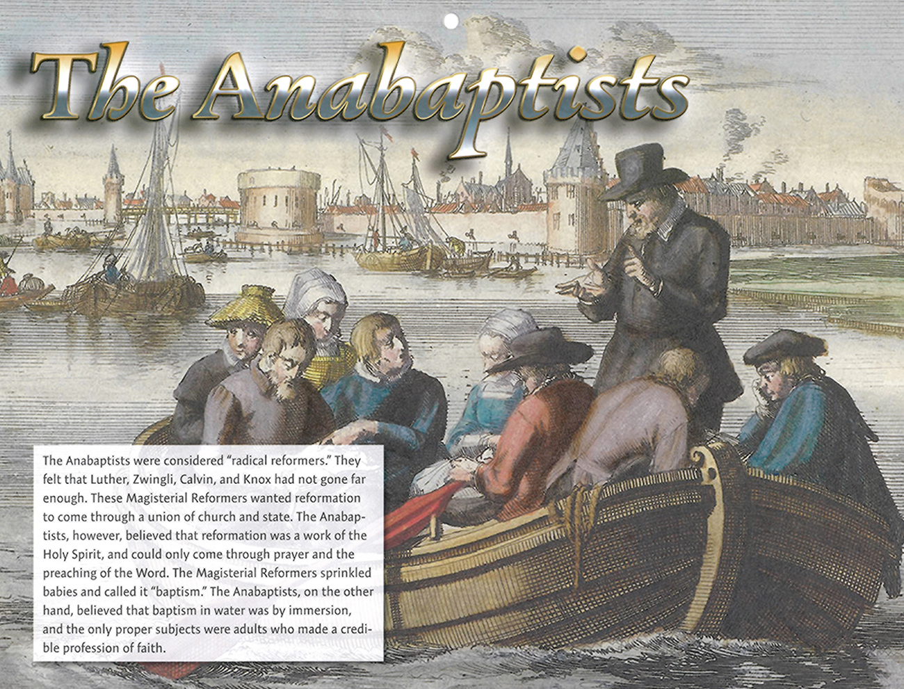 2016 Prophecy Calendar: October - The Anabaptists