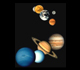 Picture of the planets.