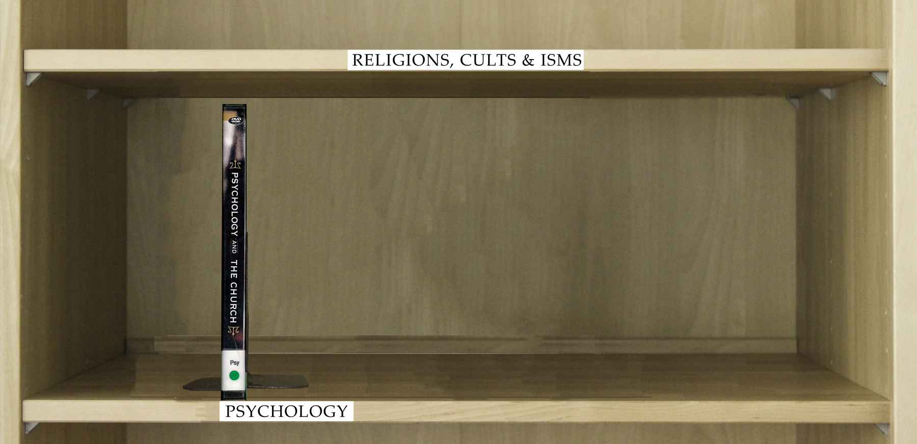Index of DVD's Under the Category Psychology.